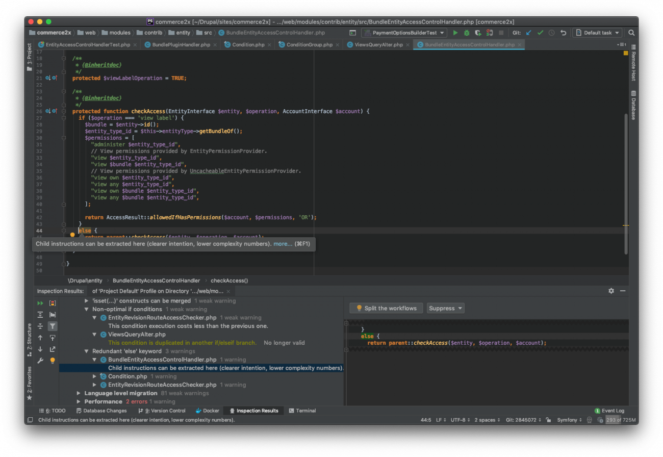 Writing better Drupal code with static analysis using PHPStan