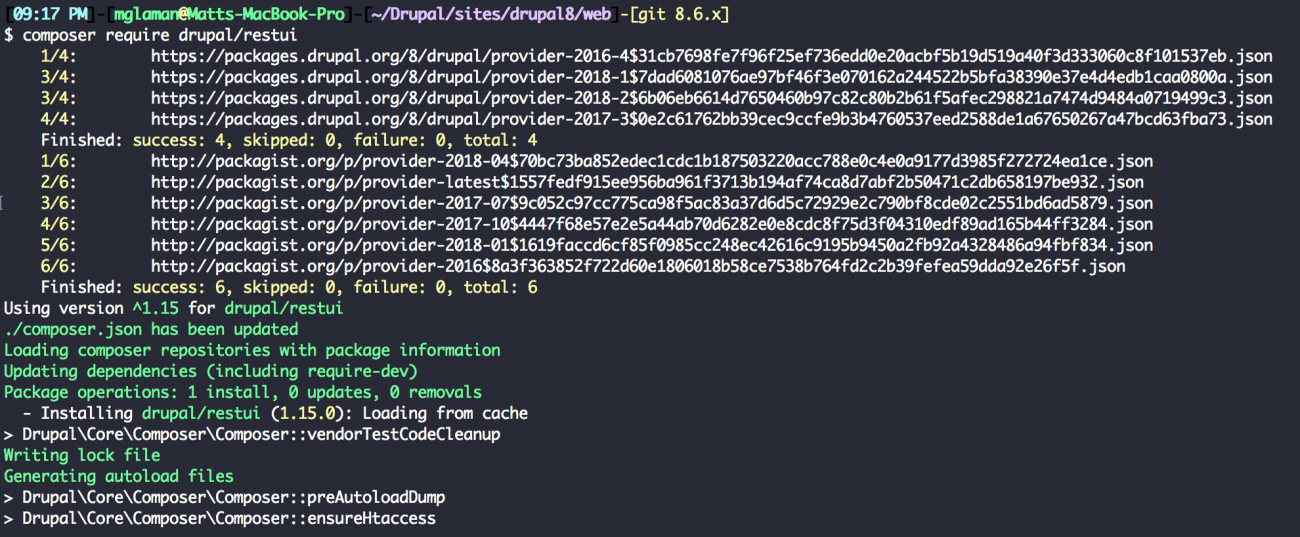 Enabling RESTful web service interfaces in Drupal 8