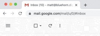 GMail icon count