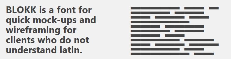 blokk-font