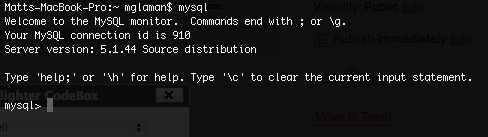Accessing XAMPP MySQL via command line.
